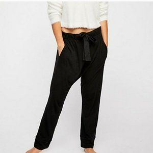 INTIMATELY FREE PEOPLE Long Haul Jogger Pant Linen